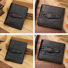 High Quality Wallet Mens PU Leather Bifold ID Credit Card Cash Holder