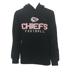 Kansas City Chiefs Kids Youth Size NFL Official Hooded Sweatshirt New NO Tags