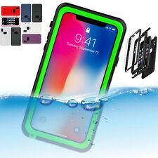 iPhone X Water Proof Shock/Drop Proof Dirt Proof Full Cover Case For Apple