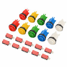 Long Length Arcade Game HAPP Style Push Button for Mame and Jamma 6 Colors TW