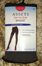 ASSETS SPANX Herringbone Shaping Tights Brown Womens 2 Fits 4'10-5'9 115-150 lbs