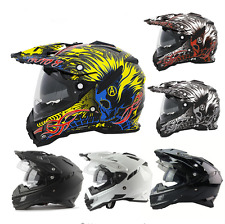 Motorcycle helmet THH TX-27 off-road cross motocross atv mtb downhill dual visor