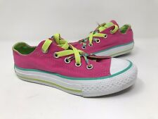 """New! Girls Youth Converse All Star """"Kriss K"""" 633255F Slip-On - Pink O18"""