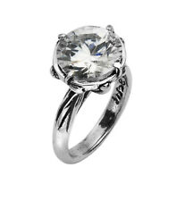 Amazing Unique Sterling Silver 925 Ring White CZ white Shablool Women's Ring