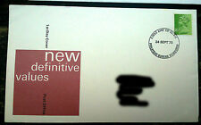 First day cover new definitive values