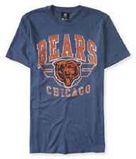 NWT MENS NFL BEARS SHORT SLEEVE GRAPHIC T SHIRT S M AEROPOSTALE