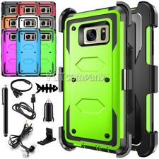 For Samsung Galaxy Note 8 S8 Plus S7 Edge Rugged Case Belt Clip Holster + Bundle