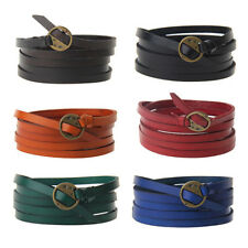 Multilayer Leather Fashion Bracelet Bangle Punk Five Laps Wristband Unisex