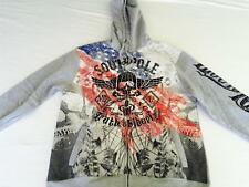 NWT Awesome Mens SOUTHPOLE Hoodie Jacket LIVE TO RIDE - Large or X Large - NEW