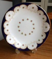 VINTAGE  WEDGWOOD PLATE, BEAUTIFUL FLORAL AND BLUE DESIGN
