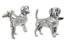 Beagle Dog Hound Hunting English Pewter Mens Gift Cuff links By CUFFLINKS DIRECT