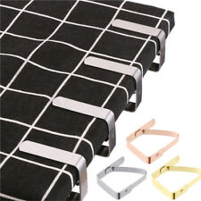 4pc Stainless Steel Tablecloth Table Cover Clips Holder Clamps Party Home Picnic