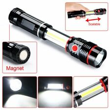 300LM COB LED Work Light Outdoor Camping Inspection Lamp Magnetic Hand Torch