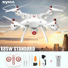 Syma X8SW 720P HD Camera WIFI FPV Drone Headless RC Quadcopter Helicopter Toy TP