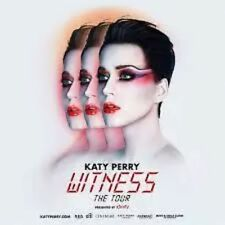 Katy Perry: American Airlines Arena Miami 2 tickets: 12/20/17 - Sec 112- Row 20-