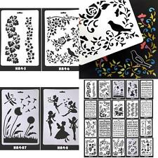 Hot Drawing Stencil Template Album Stamping Mold Arts Craft DIY Painting Tool