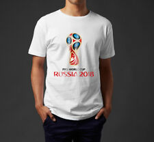 2018 FIFA World Cup Logo T-Shirt, International Football Tournament Russia Tee