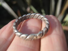 950 to 999 Silver Karen Hill Tribe ring Northern Thailand Jewelry art A14
