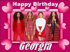 A4 LITTLE MIX EDIBLE PHOTO CAKE TOPPER PERSONALISED EDIBLE PHOTO ICING ITEM412