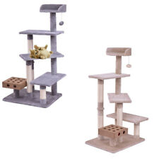 Pet Toys Plush Tower Condo Bed Scratch Post Cat Tree Play House Easy To Clean US