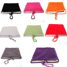 1PC Samsung Galaxy Note 2 N7100 Cloth Sleeve Velvet Sock Case Bag Pouch 8 Colors