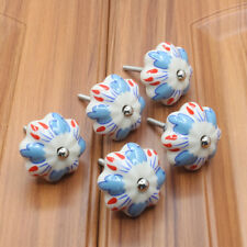 vintage ceramic knobs drawer pull cupboard Cabinet door knobs china - Home Decor