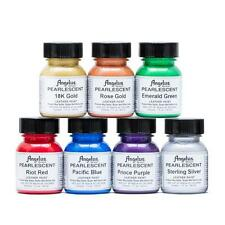 NEW Angelus Pearlescent Acrylic Leather & Vinyl Waterproof Paint 7 COLORS!