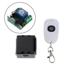 1CH Wireless Remote Control Switch Relay Receiver Module + Transmitter DC 12V