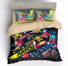 3D Print Arms Game Duvet Cover Sets Quilt Cover with Zip Bedding Set Pillow Case