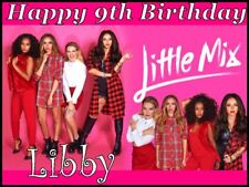 A4 LITTLE MIX EDIBLE PHOTO CAKE TOPPER PERSONALISED EDIBLE ICING PHOTOS ITEM516