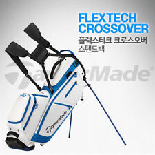 TAYLORMADE FLEXTECH CROSSOVER 2 Color Stand Golf Caddy Bag Tour Carry Cart v_e