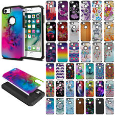 For Apple iPhone 8 / iPhone 7 4.7 inch Fusion Hybrid Rubber Silicone Case Cover