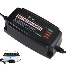 12V 5A Smart Fast Lead Acid Battery Charger For Auto Car Motorcycle Waterproof