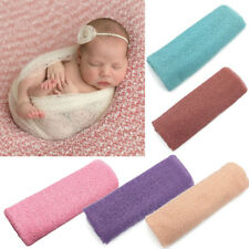 Newborn Baby Care Girl Boy Wraps Blanket Posing Swaddle Cover Photography Prop