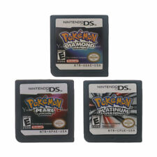 Nintendo NDS Video Game Cartridge Console Card Pokemon Series  USA Version