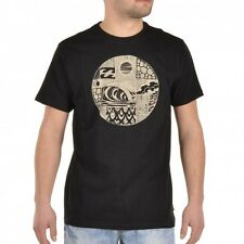 Billabong WAVESTAR T-Shirt T-Shirt Black Mens Pattern Surf z1ss31 bif6 19