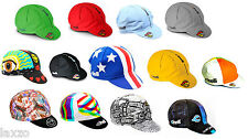 Cinelli Rider Collection - Columbus- Caleido Cotton Cycling Caps Made In Italy