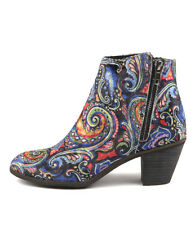 New I Love Billy Nolo Blue Multi Pais Womens Shoes Casual Boots Ankle