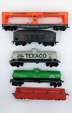 HO Scale ~ Rolling Stock Freight ~Flat, Tankers, Trailer Train, Hopper with load