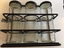 Wrought iron spice racks, NEW from Pierre Deux