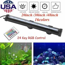 Remote Control LED Air Bubble Light Underwater Submersible Aquarium Fish Tank SK