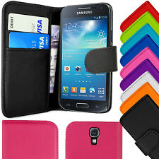 Magnetic Wallet Carbon Leather Flip Case Cover For Samsung Galaxy S4 S iV I9500