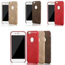 New Ultra Thin Synthetic Leather Phone Case Cover Solid Soft Back Skin EN24H 02