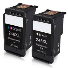 Remanufactured Canon PG-245 CL-246 Ink Cartridge High Yield Ink Level Printer US