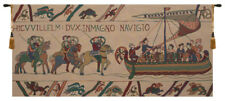 Bayeux - Navigio (Navigating) Belgian Woven Norman Tapestry Wallhanging NEW