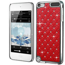 Luxury Chrome Design Diamond Bling Case Cover Skin For Apple Touch iPod 5 UK
