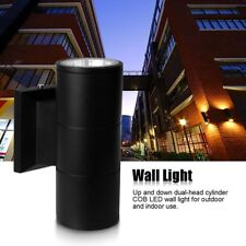 6/10/20W Outdoor Exterior Wall Light Fixture Up Down Dual-Head COB LED Wall Lamp