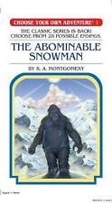 Choose Your Own Adventure #1: Abominable Snowman by Montgomery,R,A Paperback Boo