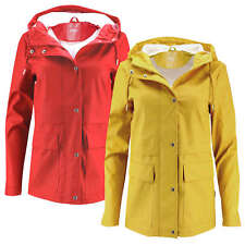 Ladies Rain Jacket Rain Coat onltrain Shorts Raincoat Parka Jacket Transitional