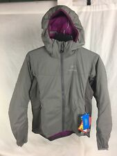 NEW ARCTERYX WOMENS ATOM LT HOODY NICKEL JACKET INSULATED XS AUTHENTIC